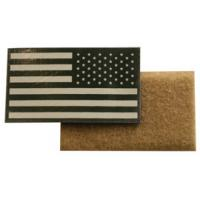 GloTape, US Flag, reflective, Right Shoulder, Tan