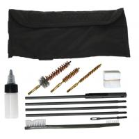 Gun cleaning Kit for 9mm & M16 Weapons, Black