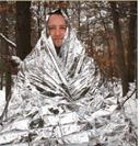 Combat Casualty Blanket, Bright Silver