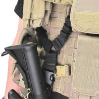 Rifle Sling, 1 Point Bungee, Multicam