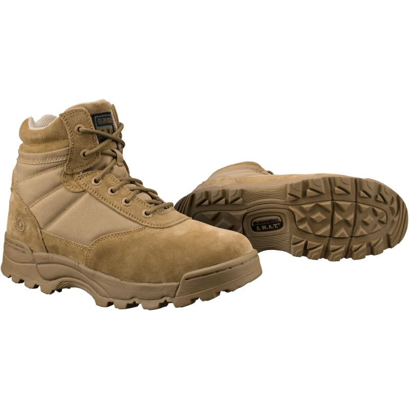 "Original Swat Classic 6"" Boot, Coyote - Click Image to Close"