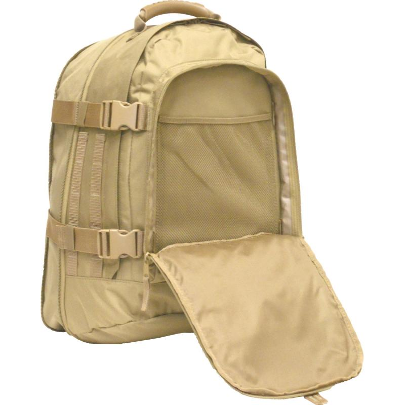 3 Day Jaunt Expandable Backpack, Coyote - Click Image to Close