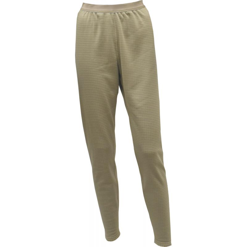 Women's Grid Fleece Pants Tan499/Coyote - Click Image to Close
