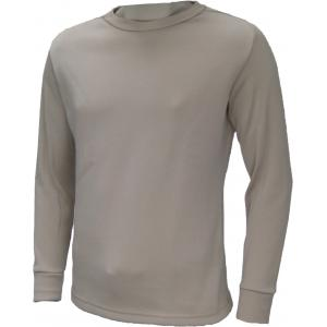 Heavy-Weight Crew Neck Top, Polypropylene. Tan499