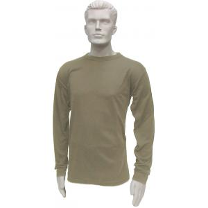 Thermal Crew Neck Top, Mid-Weight, Tan499