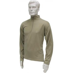 Thermal ZIP Top, Mid-Weight, Sand