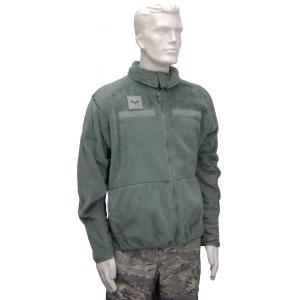 Fleece Jacket, Foliage Green