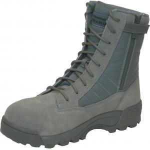 "ACB, Advantage Combat 8"" Boot, Sage, Safety Toe, w/ Side Zip"