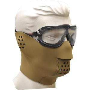 Neoprene Face Mask, fleece lined, Coyote