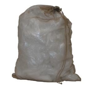 Laundry Bag, Nylon Mesh, Tan