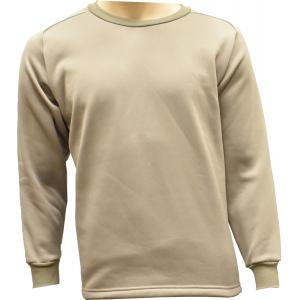 Heavy-Weight Crew Neck Top, Tan499