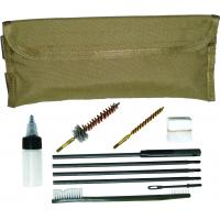 Gun Cleaning Kit for M4/M16, MOLLE, Coyote