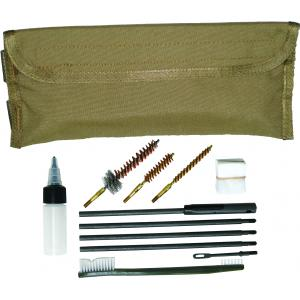 Gun Cleaning Kit for 9mm & M4/M16, MOLLE, Coyote