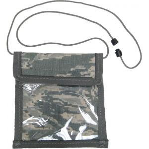 Vertical Neck ID Holder w/ Safety Break Away Clasp, ABU